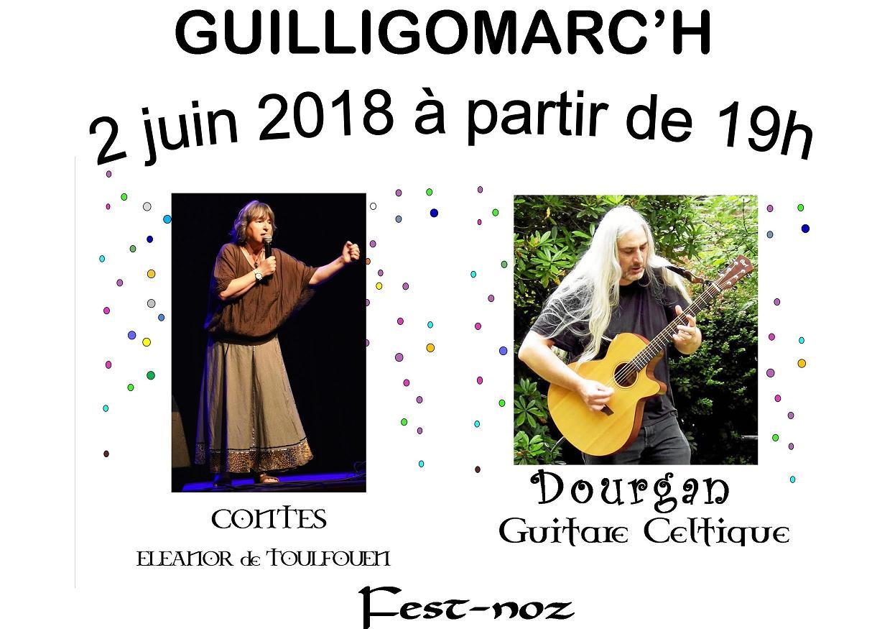 concert: samedi 2 Juin au Guillifest- Guilligomarc'h (29)